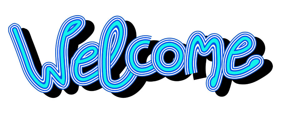 Blue WELCOME to new patients visiting The Smile Club in Houston, TX